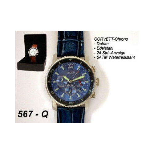 Corvett Mens Watch Chronograph CVT-567