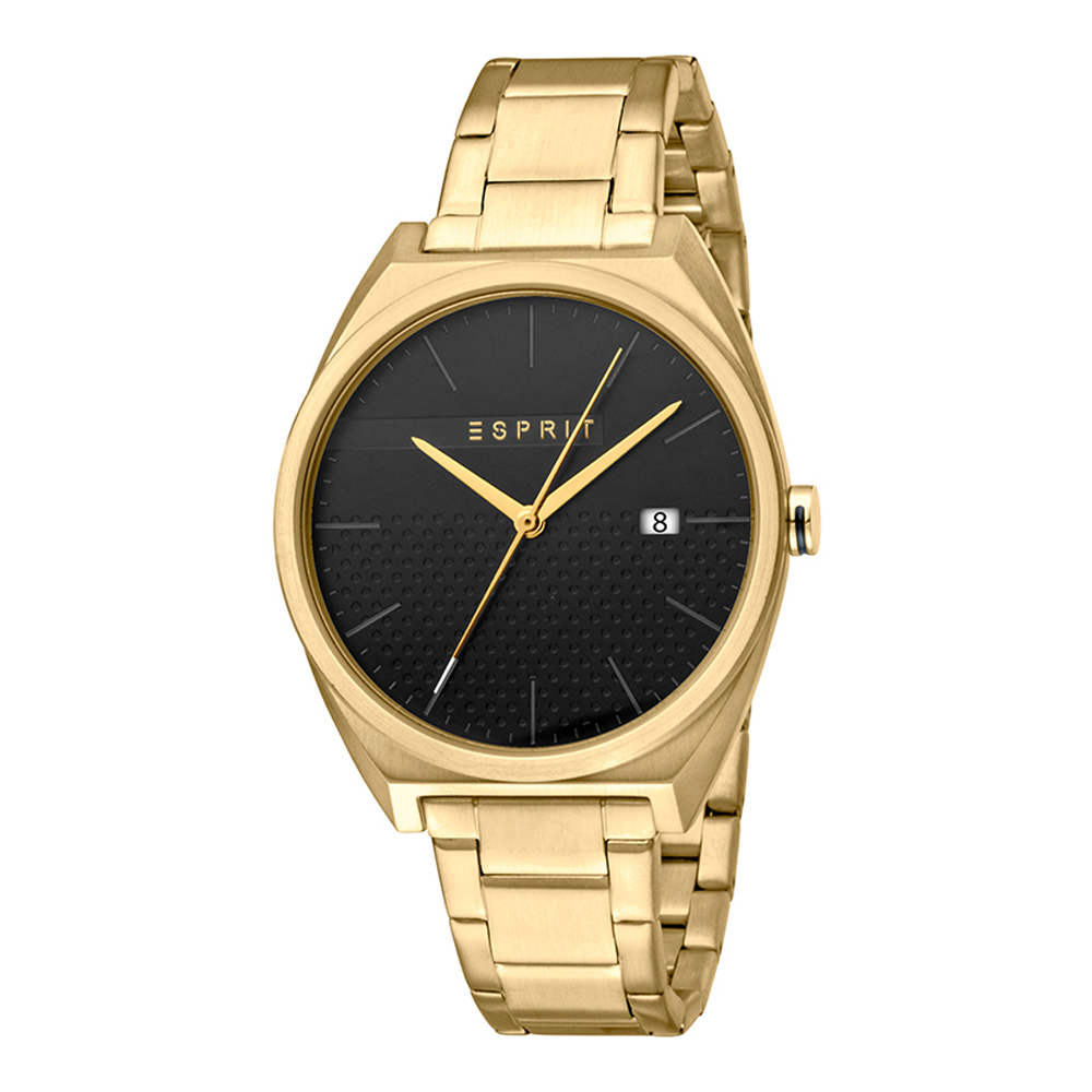 Esprit ES1G056M0075 Slice Gents Black Gold Mens Watch