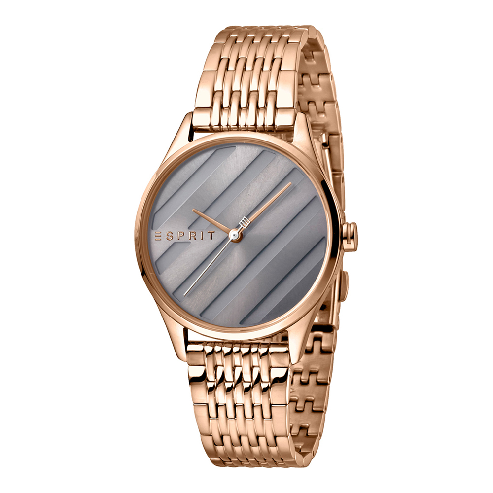 Esprit ES1L029M0065 E.ASY Grey Rosegold MB Ladies Watch