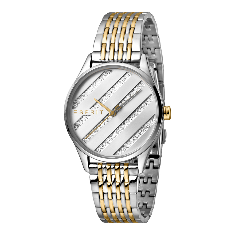 Esprit ES1L029M0075 E.ASY Two Tone Gold Silver MB Ladies Watch