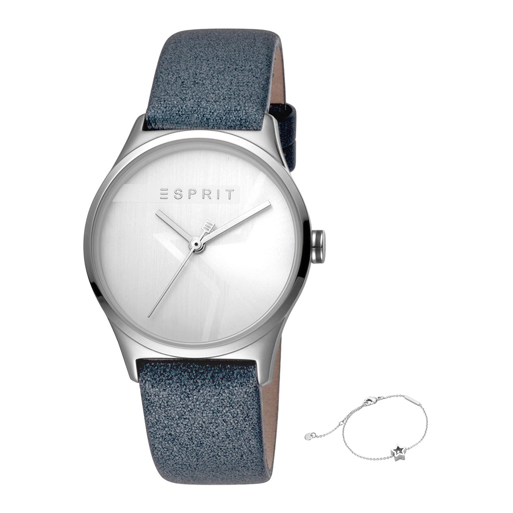 Esprit ES1L034L0205 Vivid Star Silver Grey Ladies Watch