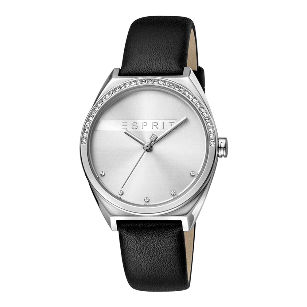 Esprit ES1L057L0015 Slice Glam Silver Black Ladies Watch