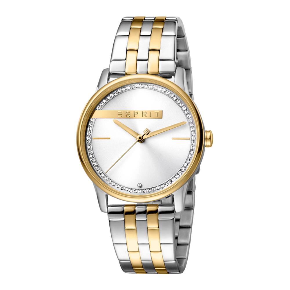 Esprit ES1L082M0065 Rock Two Tone Gold Silver Ladies Watch