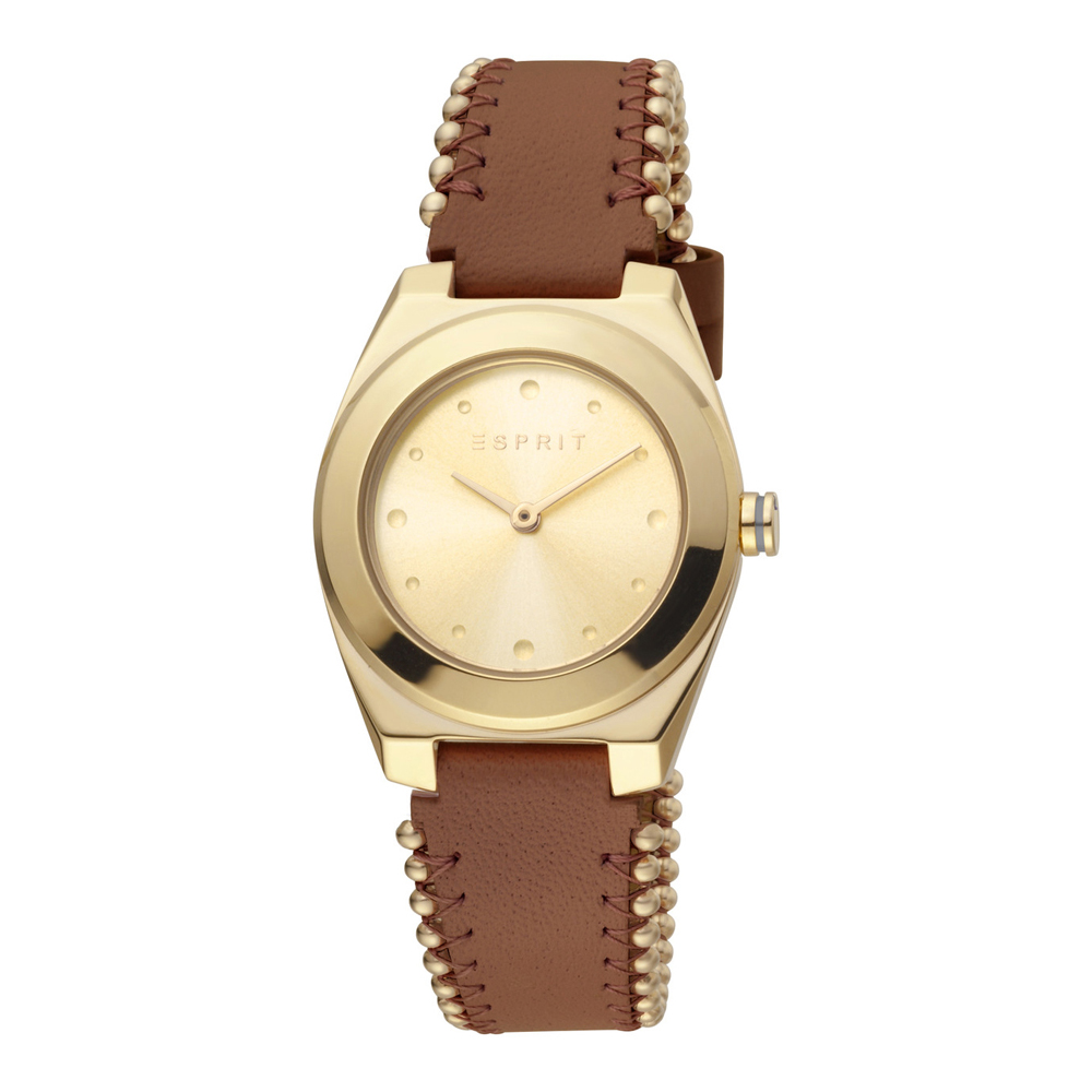 Esprit ES1L171L0025 Spot Pearls Gold Brown Ladies Watch