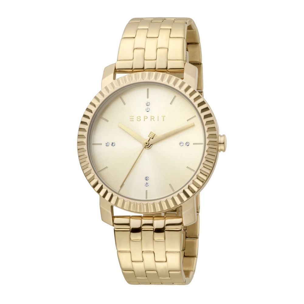 Esprit ES1L185M0065 Menlo Champagne MB Ladies Watch