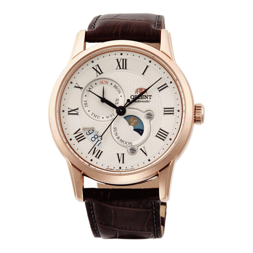 Orient Sun and Moon 3 Automatic FAK00001Y0 Mens Watch