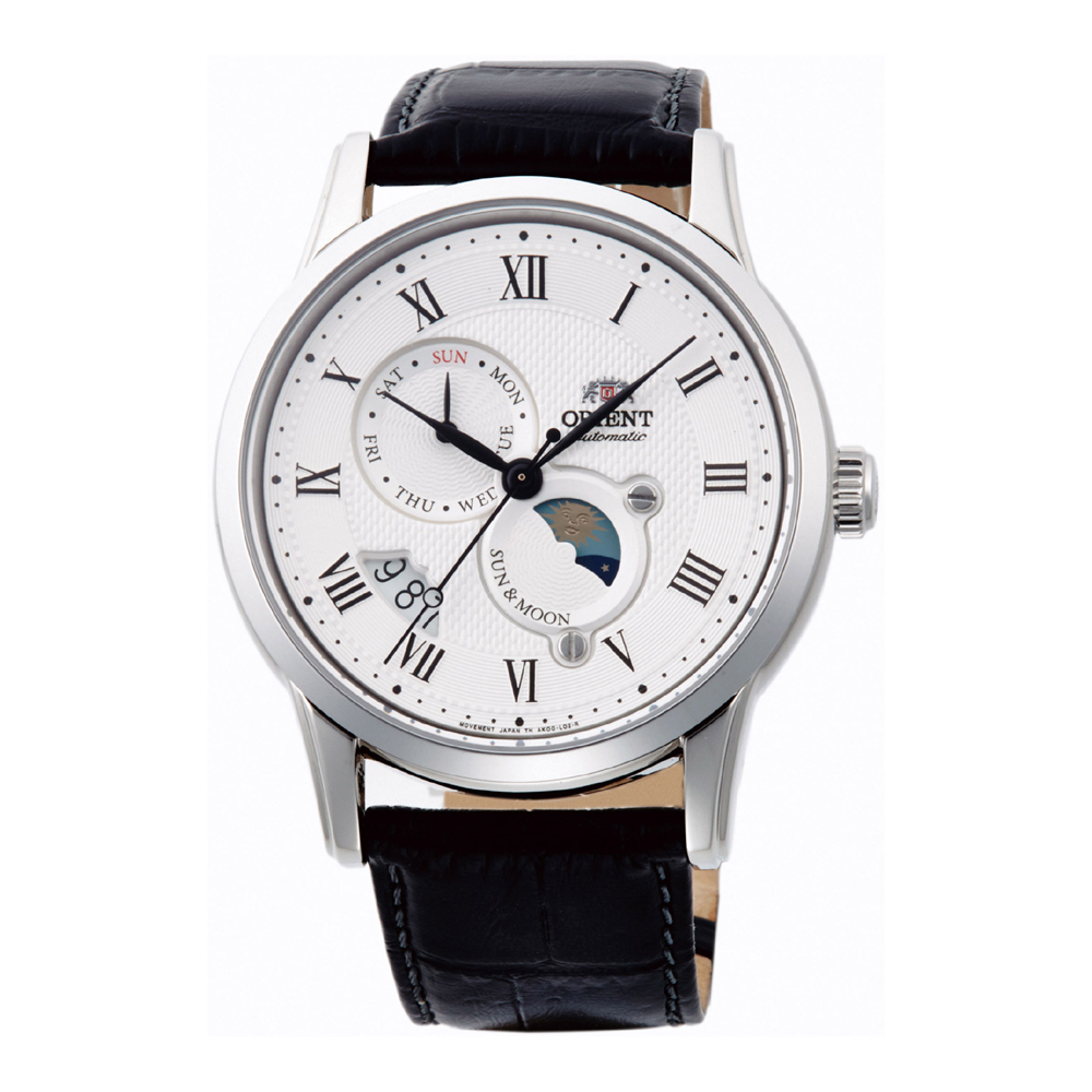 Orient Sun and Moon 3 Automatic FAK00002S0 Mens Watch