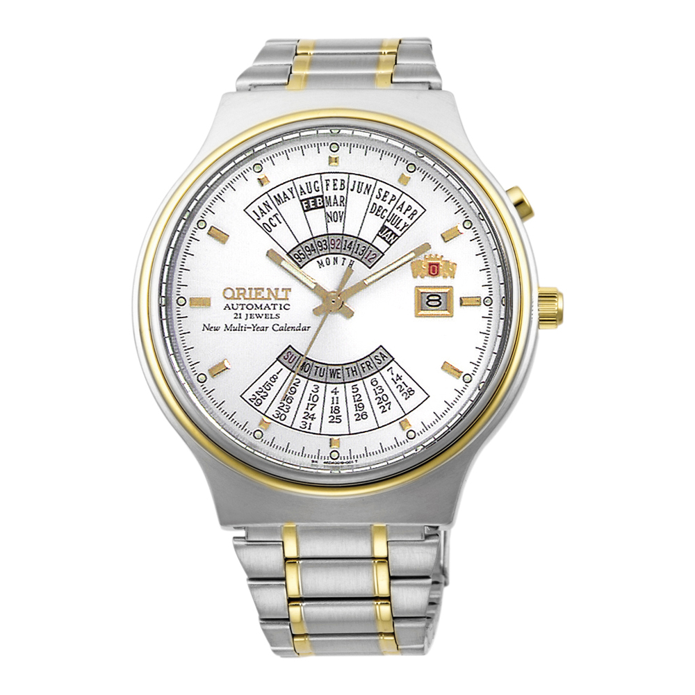 Orient Multi Year Calendar Automatic FEU00000WW Mens Watch