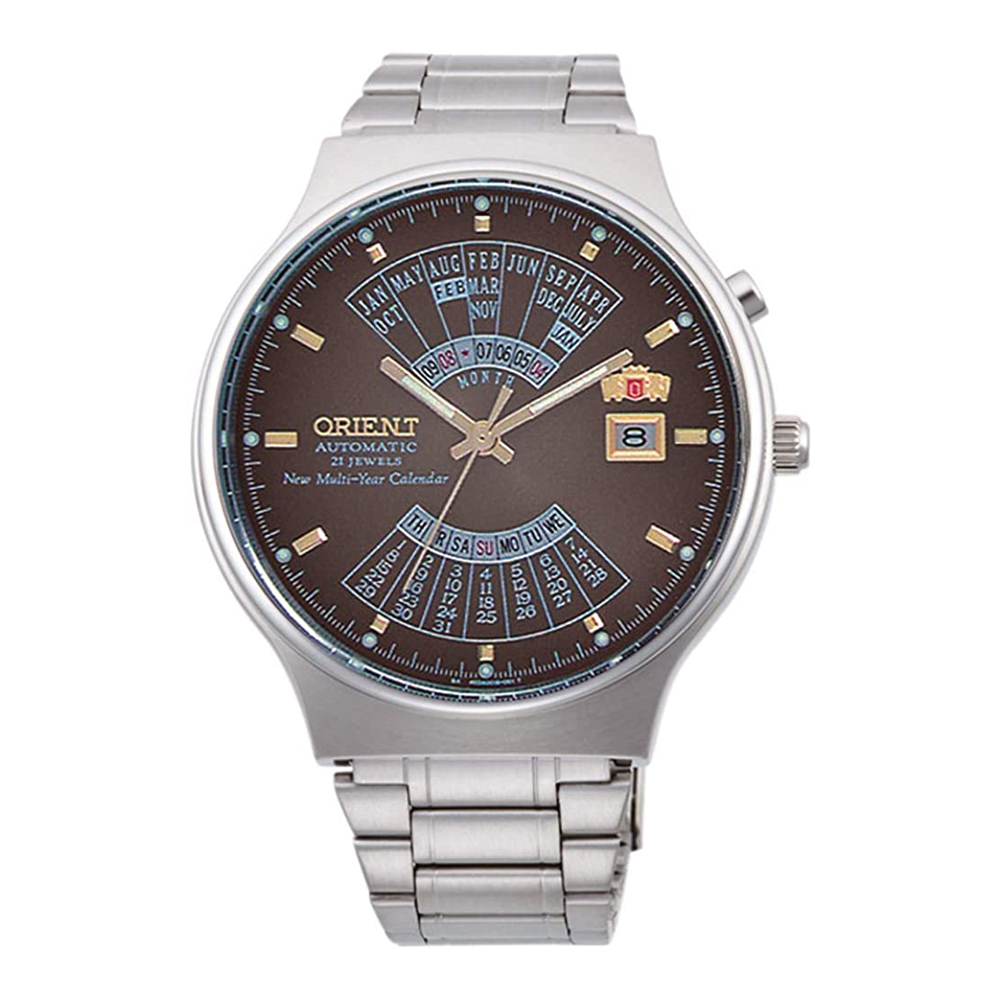 Orient Multi Year Calendar Automatic FEU00002TW Mens Watch