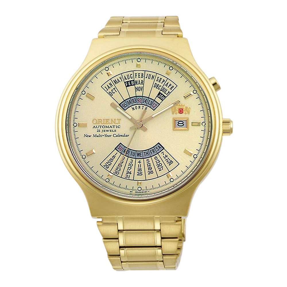 Orient Multi Year Calendar Automatic FEU00008CW Mens Watch