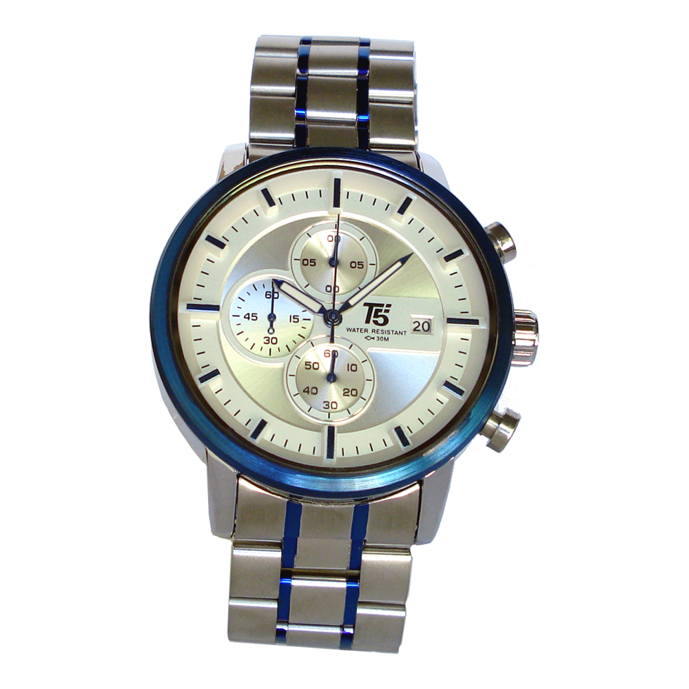 T5 sports time H3451G-SBS Mens Watch Chronograph