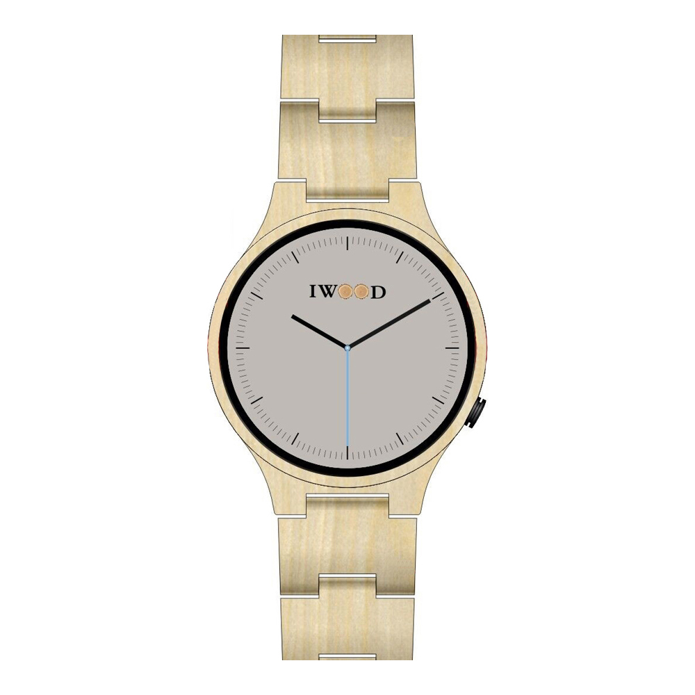 Iwood Real Wood Mens Watch IW18441001