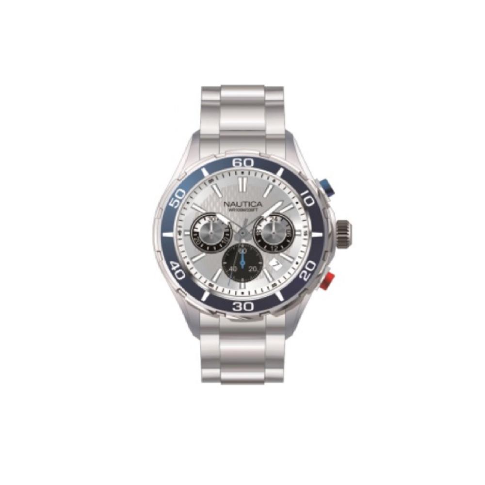 Nautica Box Set NAD20514G Mens Watch Chronograph