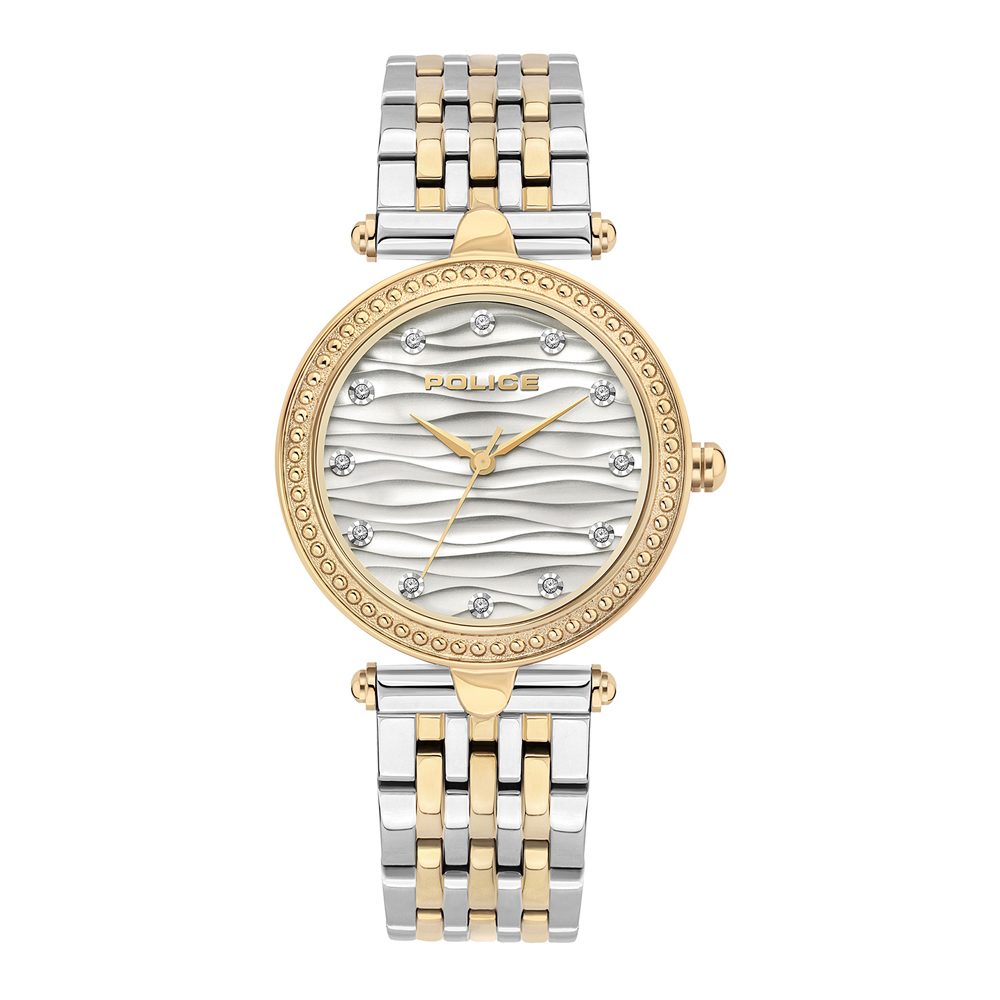 Police Sambesi PL.15692BSGD/01MTG Ladies Watch