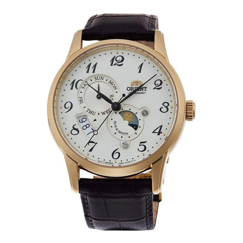 Orient Sun and Moon Automatic RA-AK0002S10B Mens Watch