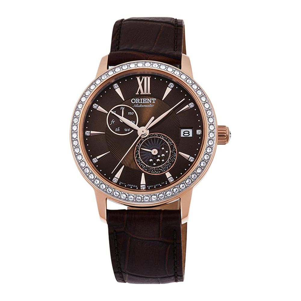 Orient Sun and Moon RA-AK0005Y10B Ladies Watch