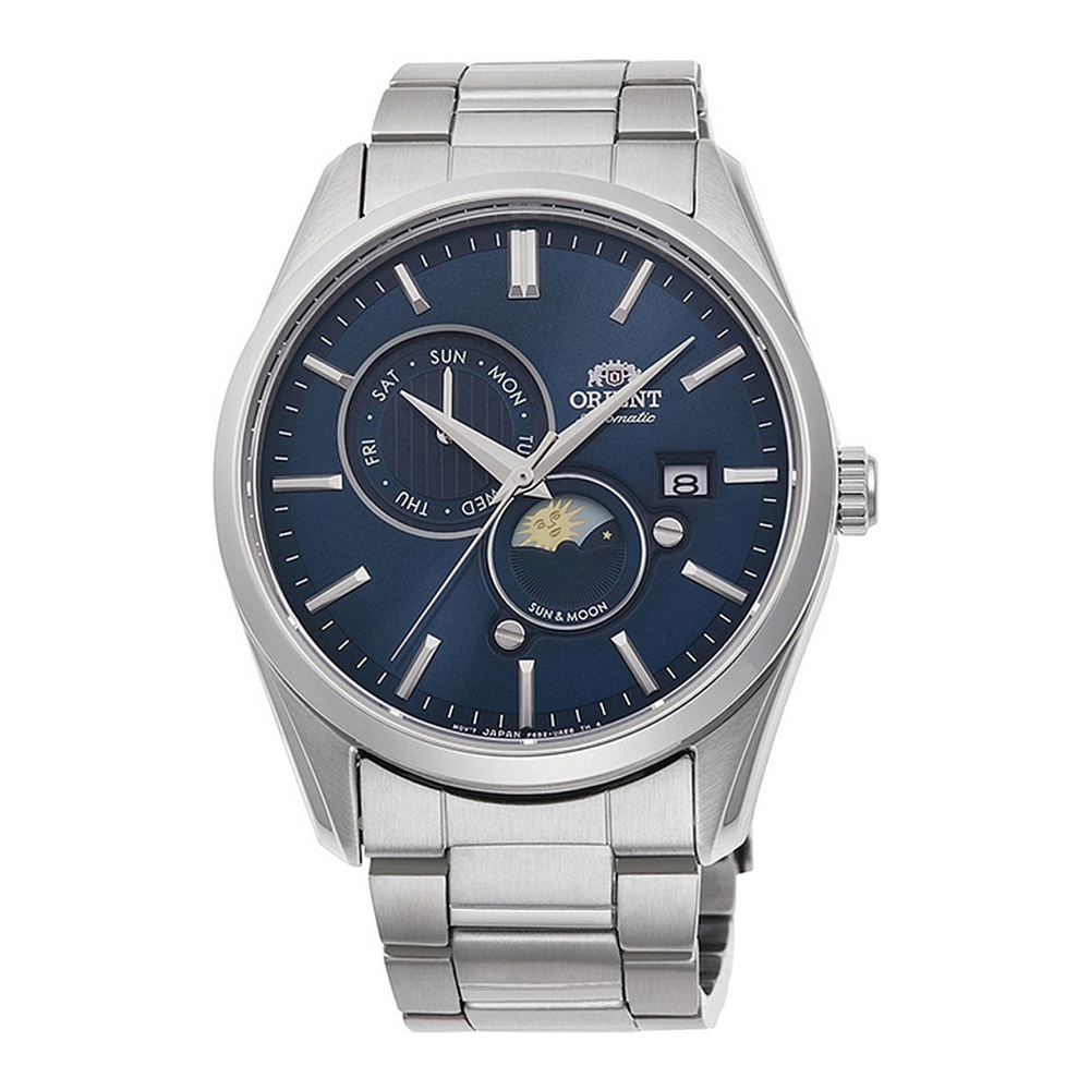 Orient Sun and Moon Automatic RA-AK0303L10B Mens Watch