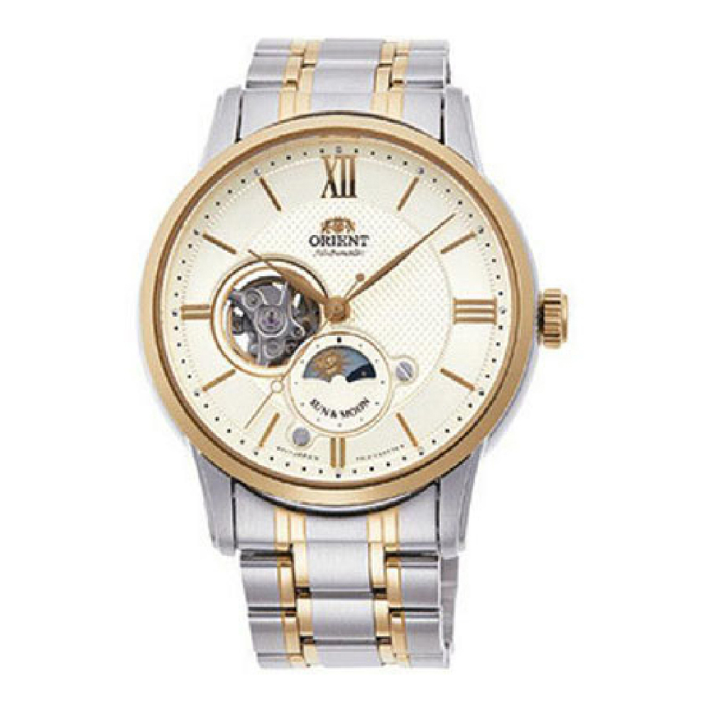 Orient Sun and Moon Automatic RA-AS0001S00B Mens Watch
