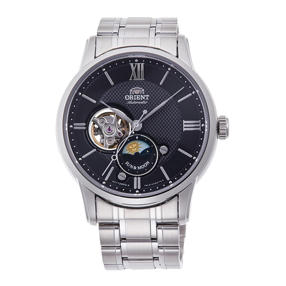 Orient Sun and Moon Automatic RA-AS0002B10B Mens Watch