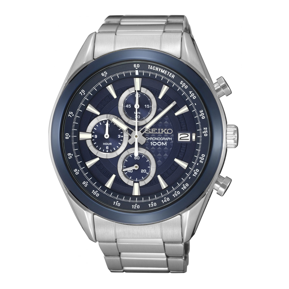 Seiko Classic SSB177P1 Mens Watch Chronograph