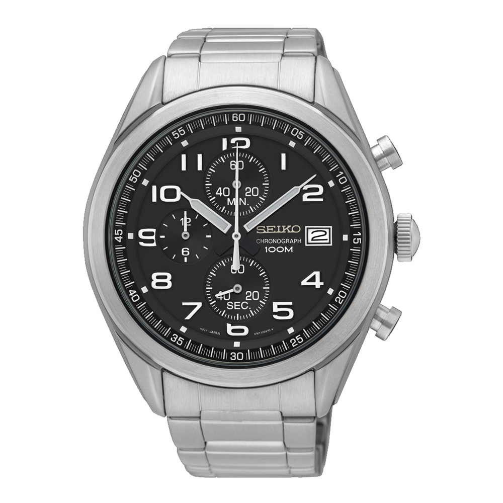 Seiko Neo Sports SSB269P1 Mens Watch Chronograph