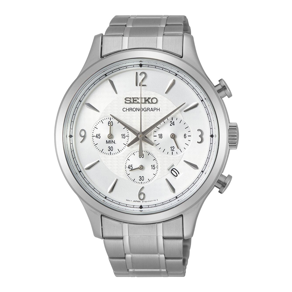 Seiko Classic SSB337P1 Mens Watch Chronograph