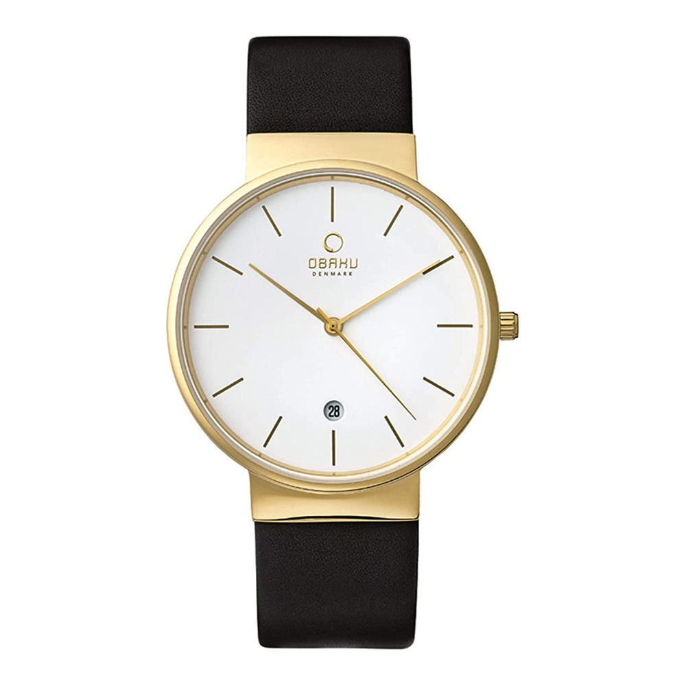 Obaku Klar V153GDGWRB Mens Watch