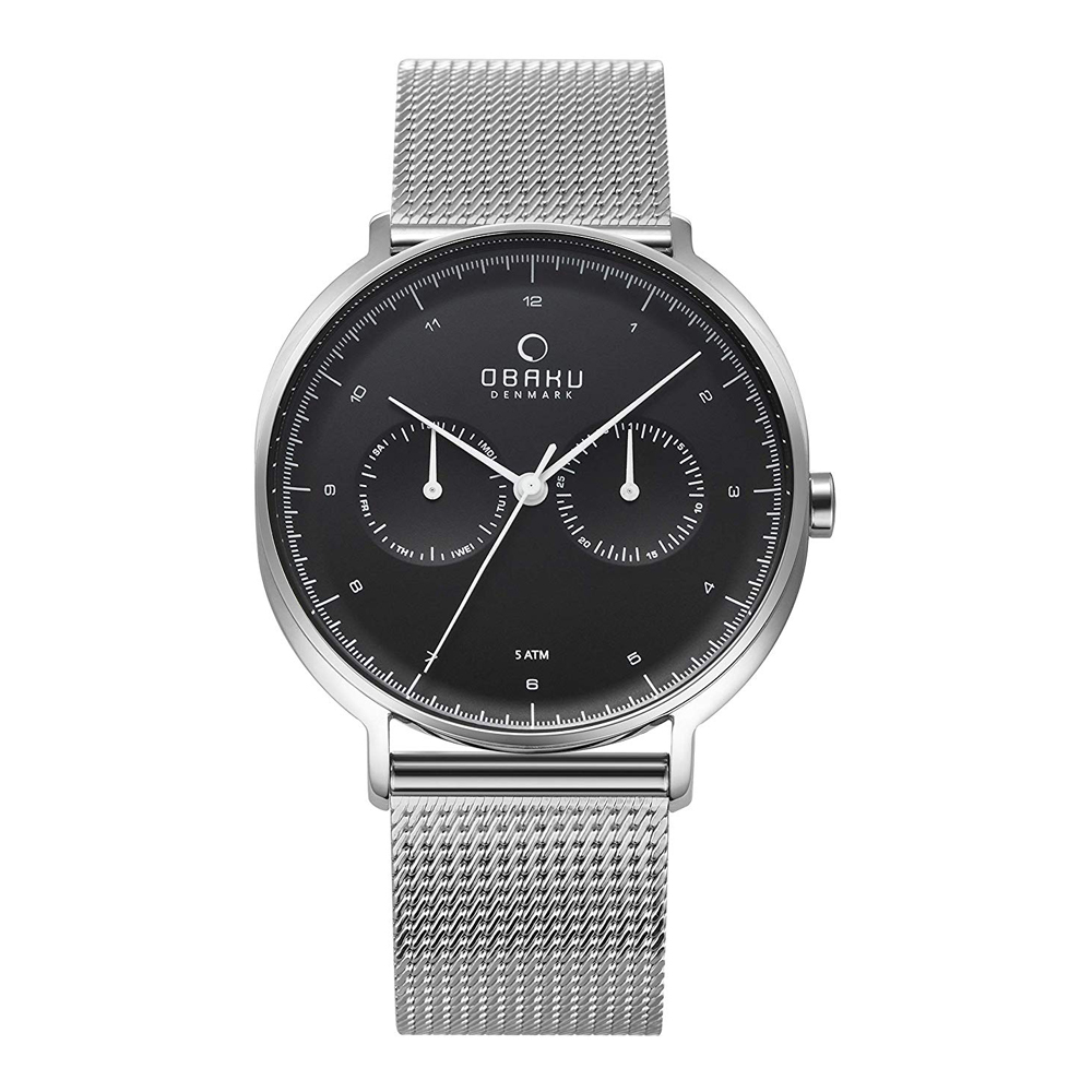 Obaku Ahorn V193GMCBMC Mens Watch
