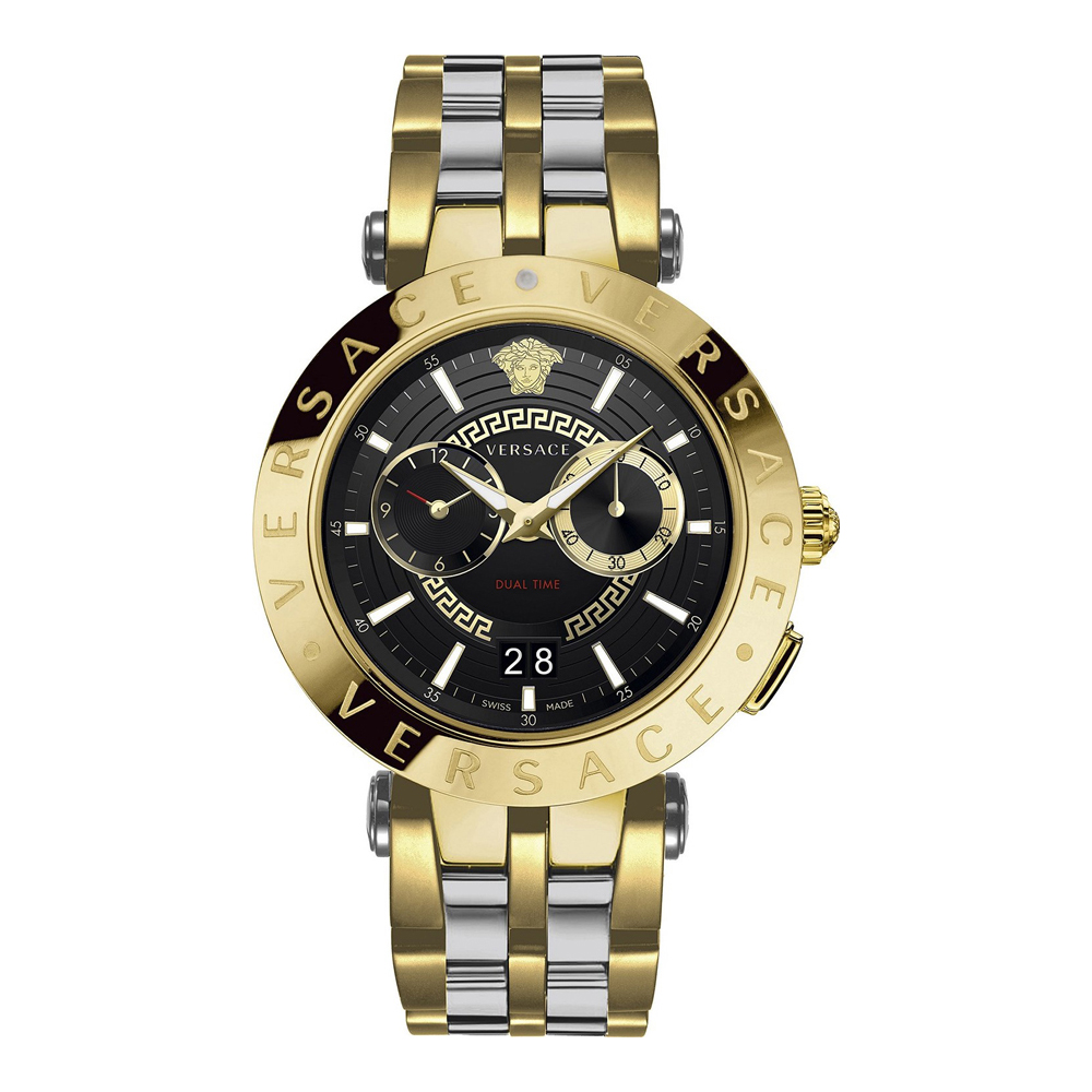 Versace VEBV00519 V-Race Mens Watch Dualtimer