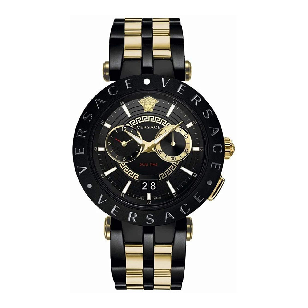 Versace VEBV00619 V-Race Mens Watch Dualtimer