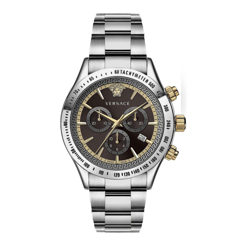 Versace VEV700419 Sporty Mens Watch Chronograph