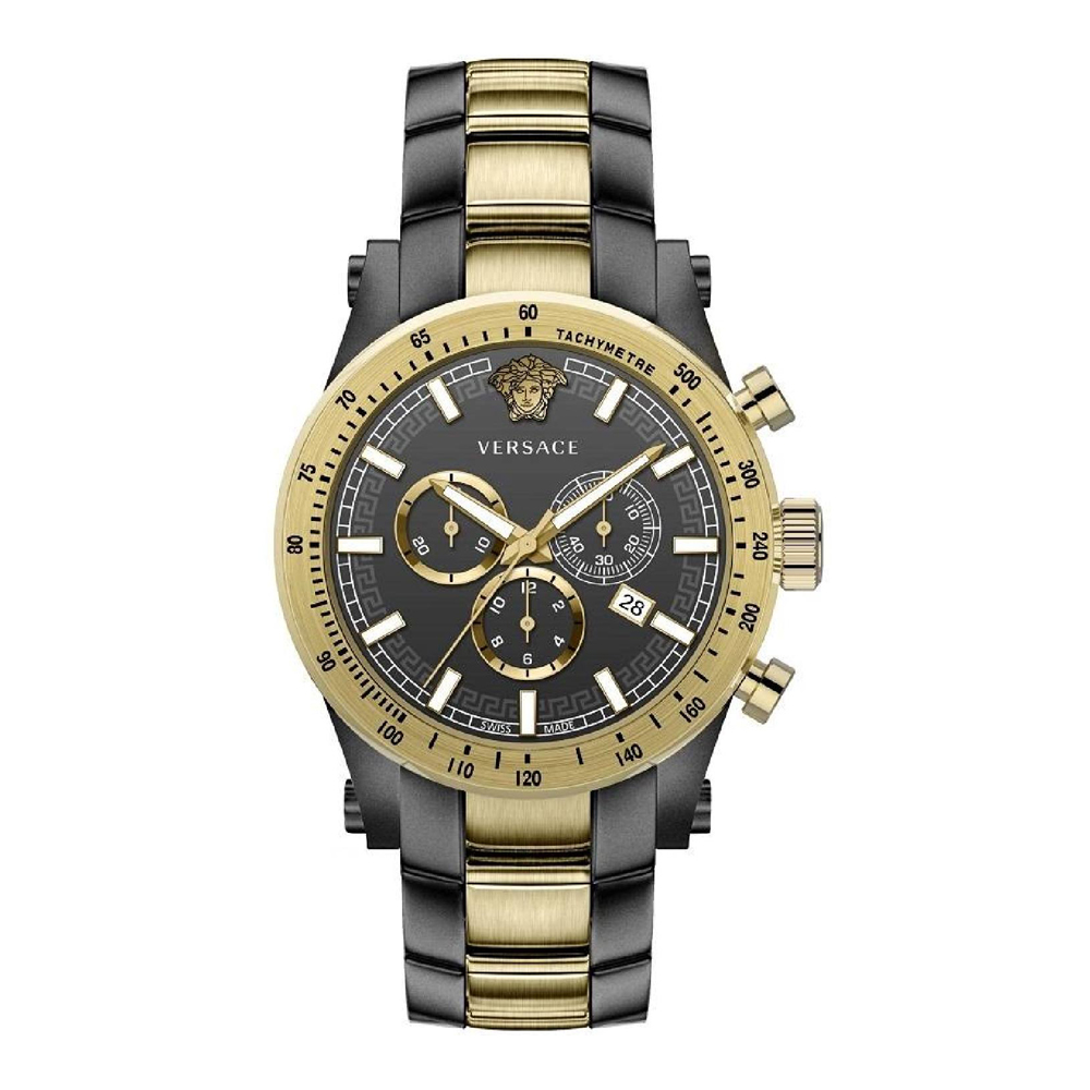Versace VEV800519 Sporty Mens Watch Chronograph