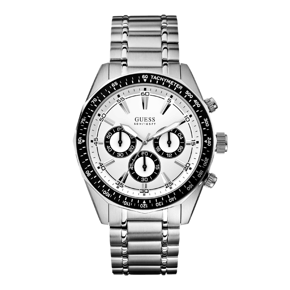 Guess Dodecagon W16580G1 Mens Watch Chronograph