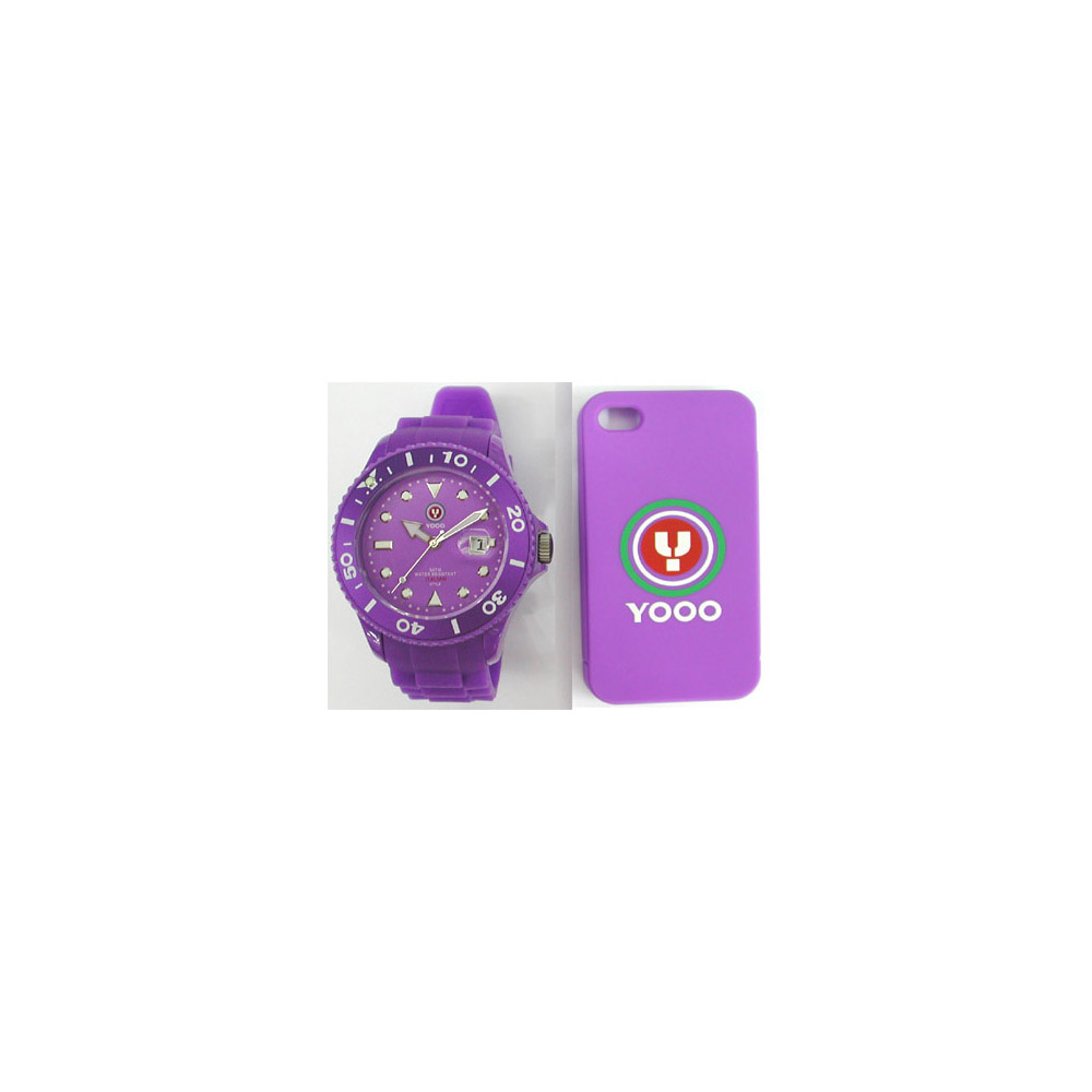 YOOO Gents Purple YW0008 Mens Watch